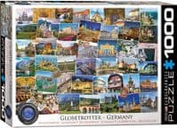 Globetrotter Germany - 1000 Pieces |Yorkshire Jigsaw Store